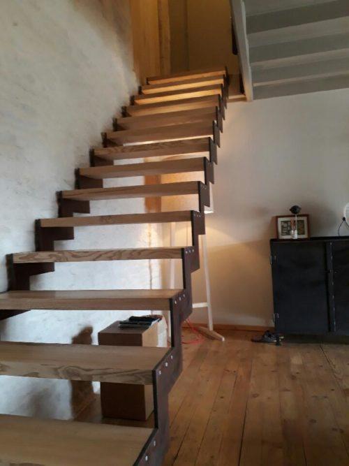 création escalier