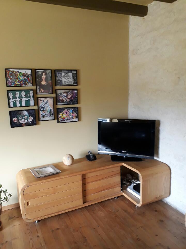 création meuble tv